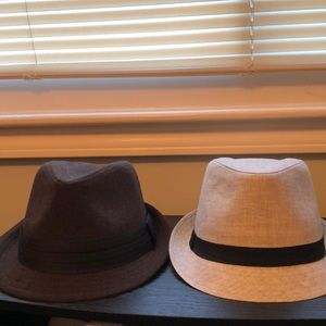 Accessories - Two Fedora Hats